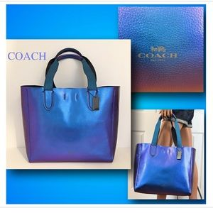 Coach Derby Hologram Derby tote